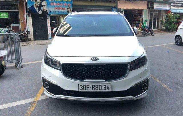 Cần bán xe Kia Sedona SX 2017, máy xăng, màu trắng0