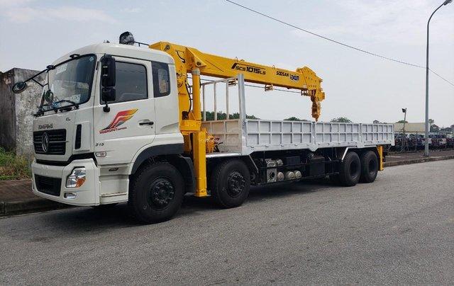 Xe tải gắn cẩu 12 tấn Dongfeng0