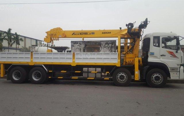 Xe tải gắn cẩu 12 tấn Dongfeng1