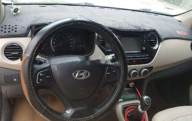 Cần bán lại xe Hyundai Grand i10 2014, màu bạc, nhập khẩu4