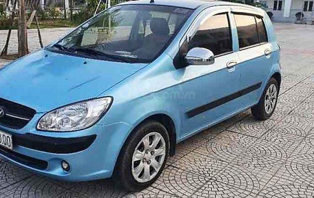 Bán Hyundai Getz sản xuất năm 2009, màu xanh lam, xe nhập còn mới0