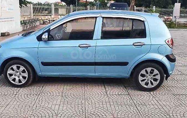 Bán Hyundai Getz sản xuất năm 2009, màu xanh lam, xe nhập còn mới2