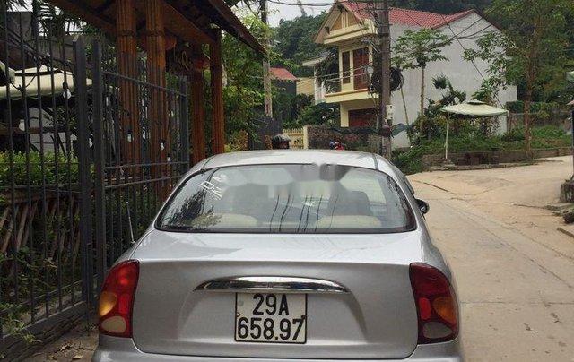 Cần bán xe Daewoo Lanos 2003, màu bạc xe gia đình4
