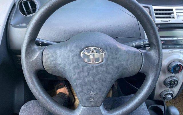 Cần bán gấp Toyota Yaris đời 2007, màu bạc, nhập khẩu nguyên chiếc4