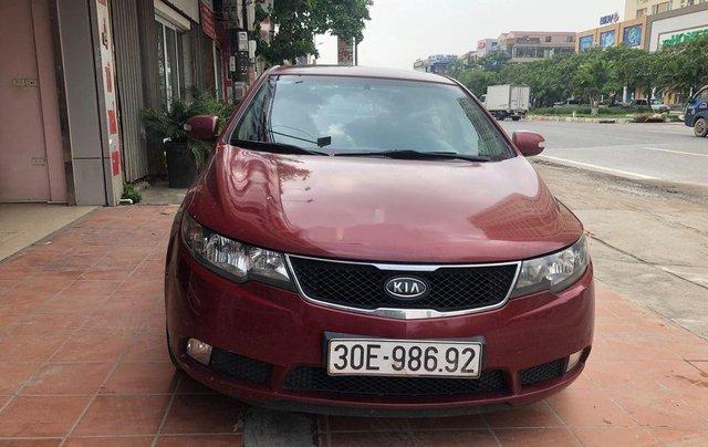Bán xe Kia Forte đời 2009, màu đỏ, nhập khẩu Hàn Quốc1