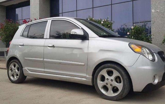 Bán Kia Morning sản xuất năm 2008, màu bạc, xe nhập, giá 182tr0