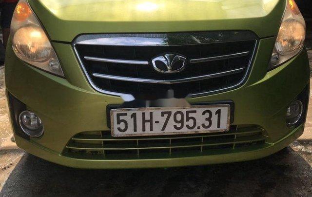 Bán Daewoo Matiz sản xuất năm 2011, xe nhập, màu xanh cốm0