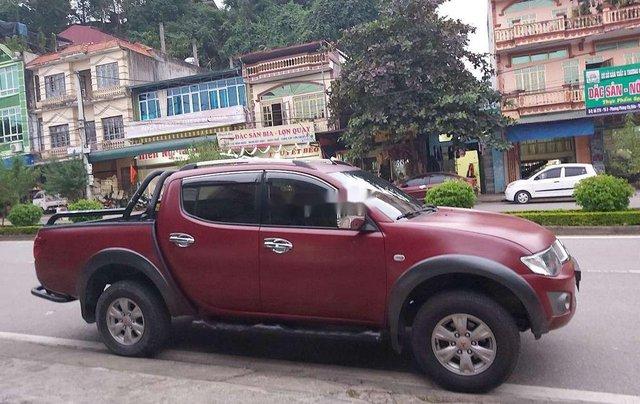 Bán ô tô Mitsubishi Triton sản xuất 2009, màu đỏ, nhập khẩu  2