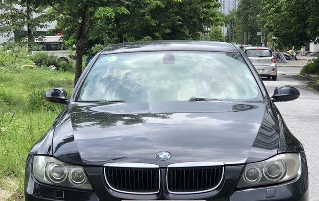 Bán BMW 3 Series 320i sản xuất 2007, màu đen, nhập khẩu chính chủ3