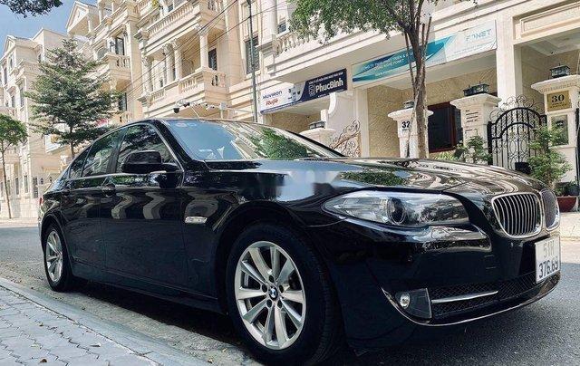 Bán BMW 520i sản xuất 2012, màu đen, nhập khẩu 10