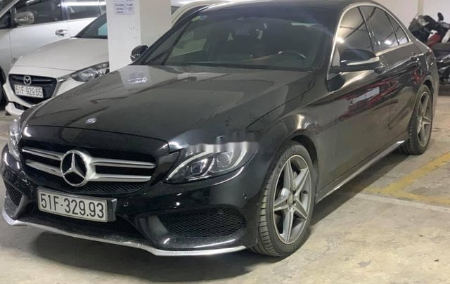 Bán Mercedes C250 AMG đời 2015, màu đen1