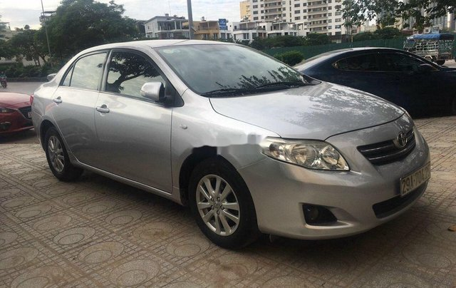 Bán xe Toyota Corolla Altis đời 2009, màu bạc, nhập khẩu 1