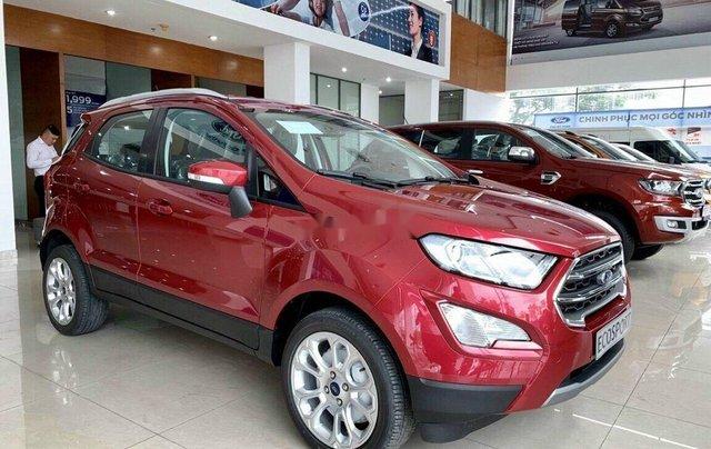 Bán ô tô Ford EcoSport 2020, màu đỏ, giá chỉ từ 616tr4