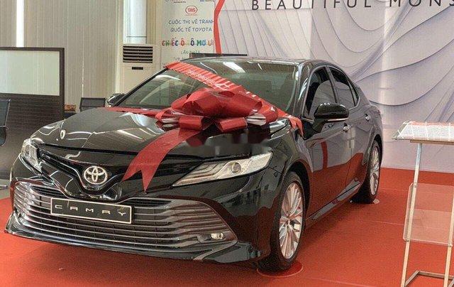 Bán Toyota Camry năm sản xuất 2020, màu đen, nhập khẩu nguyên chiếc4