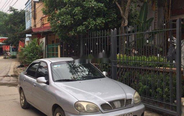 Cần bán xe Daewoo Lanos 2003, màu bạc xe gia đình1