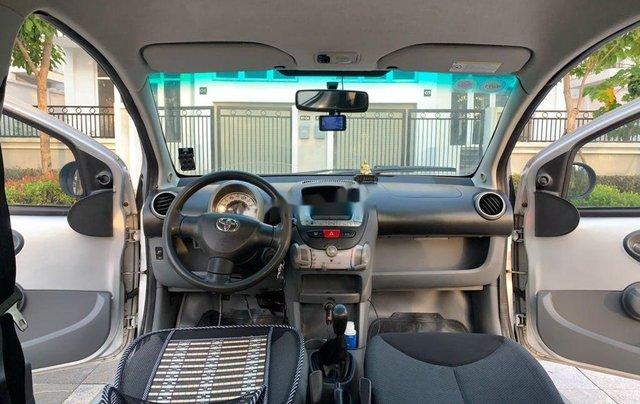 Bán Toyota Aygo sản xuất 2008, màu bạc, nhập khẩu nguyên chiếc, số sàn7
