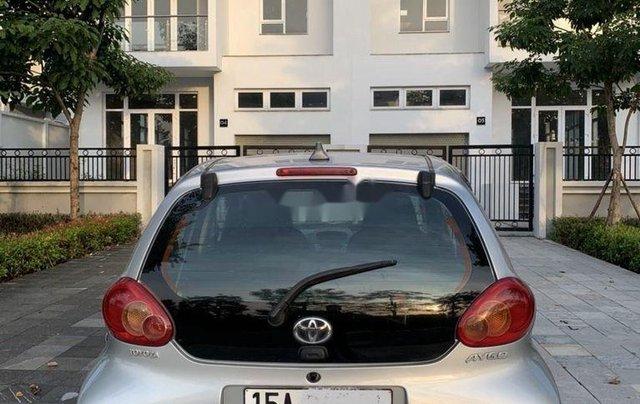 Bán Toyota Aygo sản xuất 2008, màu bạc, nhập khẩu nguyên chiếc, số sàn6