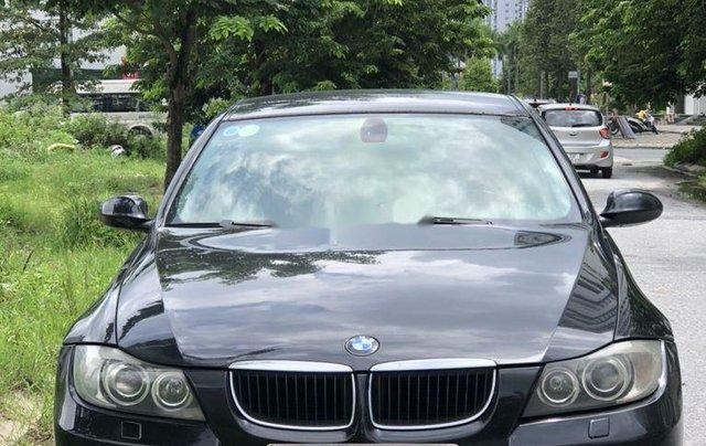 Bán BMW 3 Series 320i sản xuất 2007, màu đen, nhập khẩu chính chủ0