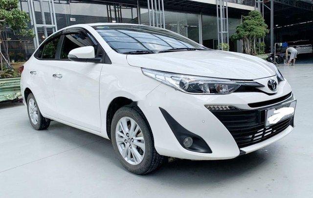Bán xe Toyota Vios G đời 2020, màu trắng, 540tr0