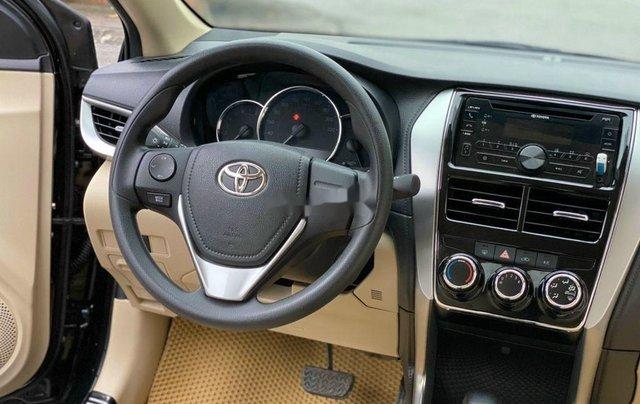 Bán Toyota Vios 1.5E CVT đời 2019, màu đen số tự động, giá 495tr6