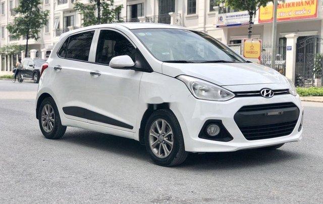 Bán Hyundai Grand i10 2016, màu trắng, nhập khẩu số sàn1