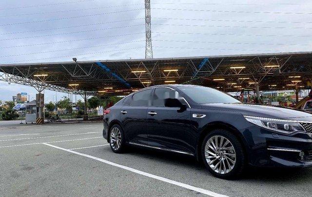 Bán xe Kia Optima sản xuất 2017, màu xanh lam, 680tr0