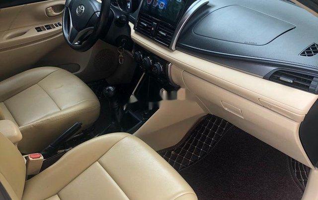Chính chủ bán Toyota Vios đời 2017, màu vàng cát3