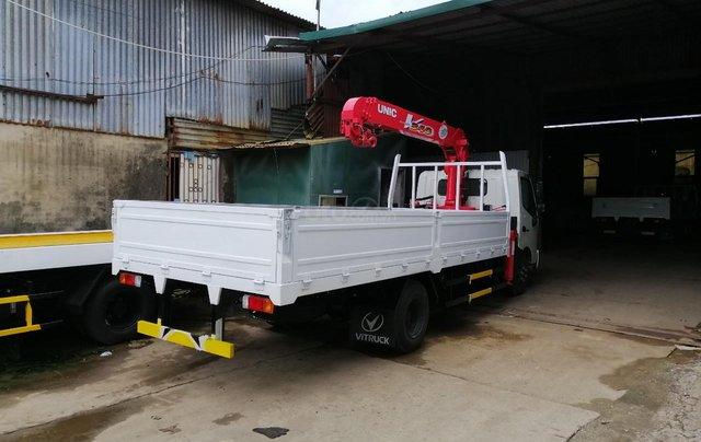 Xe Hino gắn cẩu 3.5 tấn - Hino 300 XZU7301