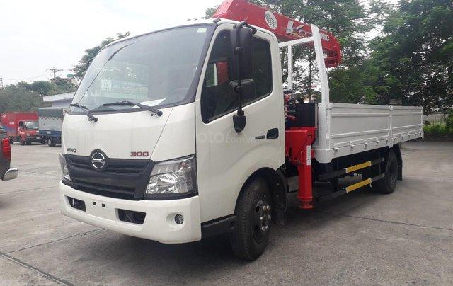 Xe Hino gắn cẩu 3.5 tấn - Hino 300 XZU7303