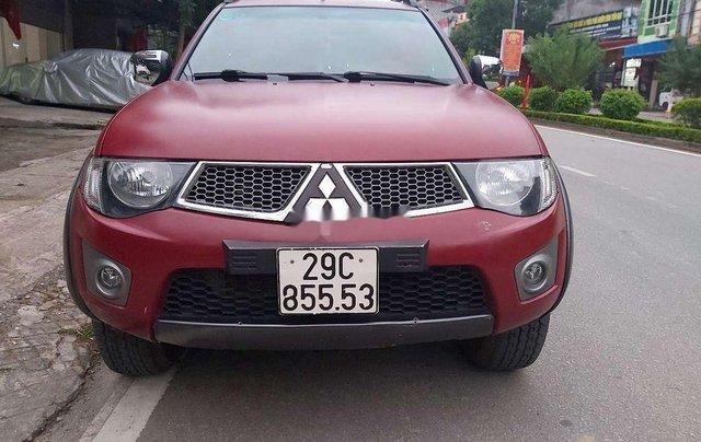 Bán ô tô Mitsubishi Triton sản xuất 2009, màu đỏ, nhập khẩu  5