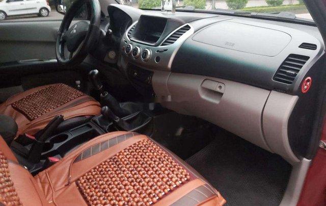 Bán ô tô Mitsubishi Triton sản xuất 2009, màu đỏ, nhập khẩu  4