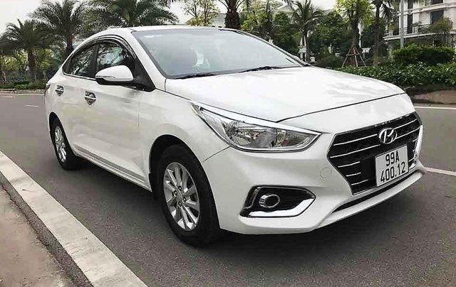 Bán Hyundai Accent sản xuất 2019, màu trắng, giá chỉ 390 triệu0