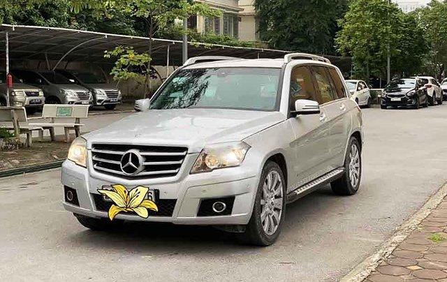 Cần bán gấp Mercedes GLK 300 sản xuất năm 2010, màu bạc, chính chủ  0
