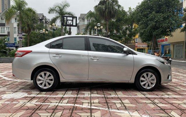 Bán xe Toyota Vios đời 2018, màu bạc7