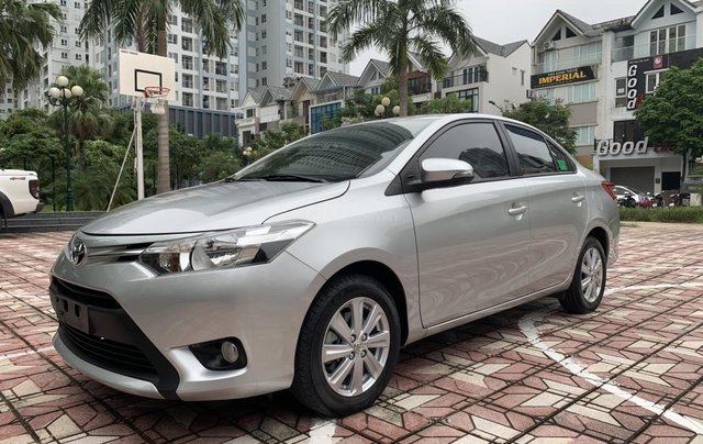 Bán xe Toyota Vios đời 2018, màu bạc5