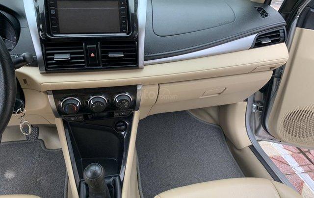 Bán xe Toyota Vios đời 2018, màu bạc13
