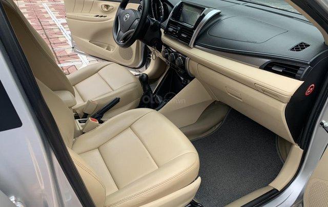 Bán xe Toyota Vios đời 2018, màu bạc14
