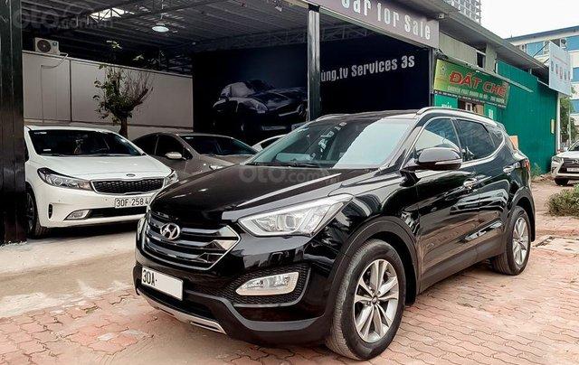 bán Hyundai Santafe 2.4AT máy xăng, sản xuất 20151