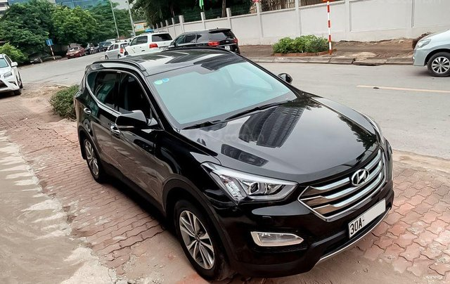 bán Hyundai Santafe 2.4AT máy xăng, sản xuất 20153