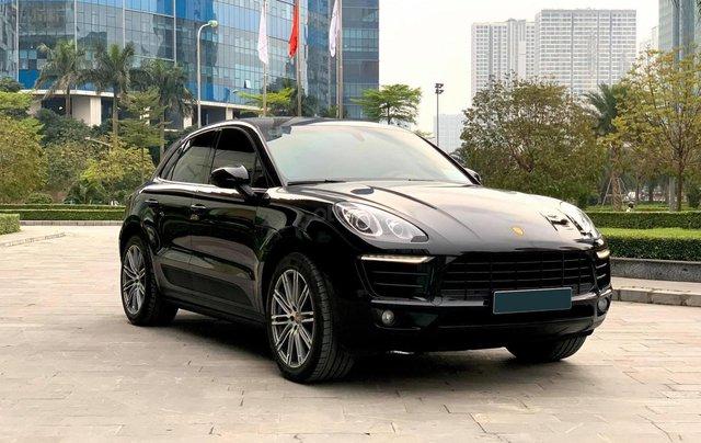 Chính chủ bán Porsche Macan 2.0L 2015, nội thất be sang trọng và đẳng cấp, biển siêu VIP4