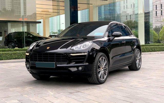 Chính chủ bán Porsche Macan 2.0L 2015, nội thất be sang trọng và đẳng cấp, biển siêu VIP3
