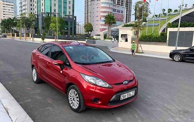 Bán xe Ford Fiesta năm 2012, màu đỏ0