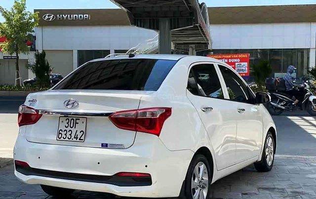 Bán Hyundai Grand i10 năm sản xuất 2019, màu trắng, chính chủ4