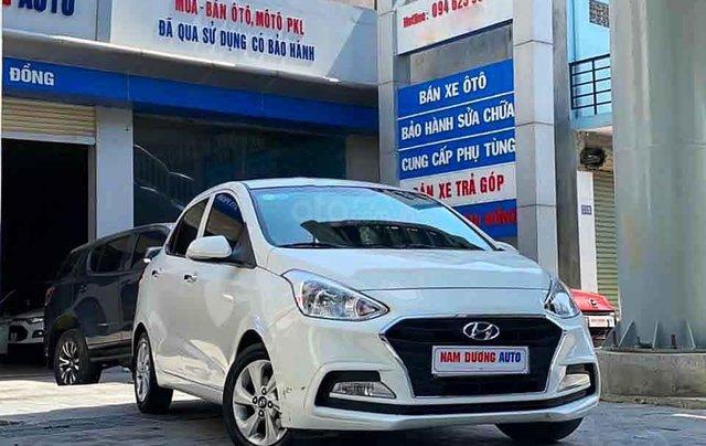 Bán Hyundai Grand i10 năm sản xuất 2019, màu trắng, chính chủ0