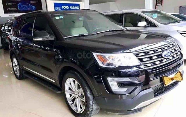 Bán Ford Explorer năm sản xuất 2017, màu đen, xe nhập2