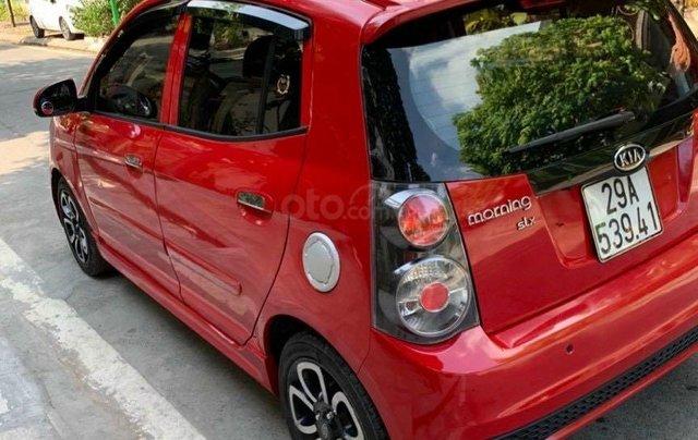 Bán xe Kia Morning XLS 2009 AT màu đỏ0