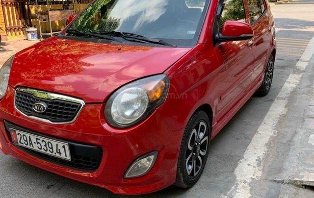 Bán xe Kia Morning XLS 2009 AT màu đỏ1