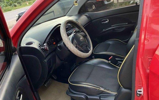 Bán xe Kia Morning XLS 2009 AT màu đỏ8