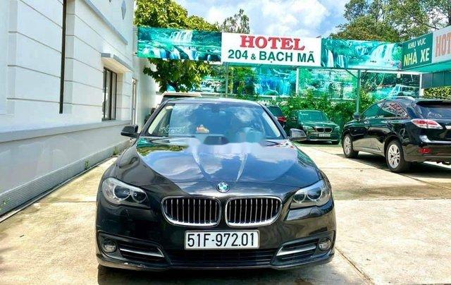 Bán BMW 5 Series 520i đời 2016, màu đen4