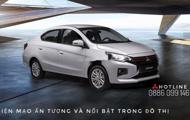 Bán Mitsubishi Attrage năm sản xuất 2020, màu bạc, nhập khẩu. Ưu đãi cuối năm0